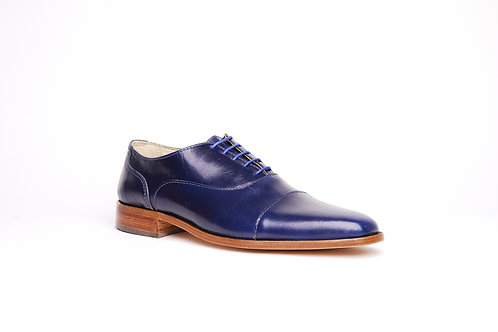 zapato ingles azul