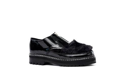 Zapato Cierre Piel