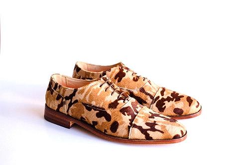 Zapato camuflado marron