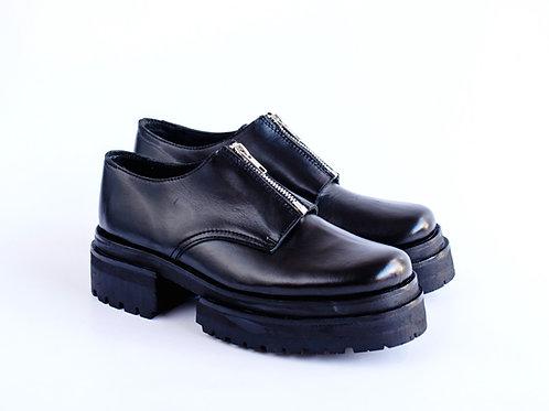 Zapato cierre super dark