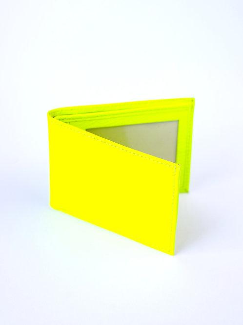 Billetera amarilla Fluo
