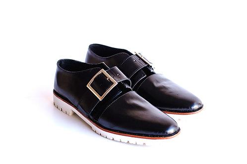 Zapato sandalia negro F