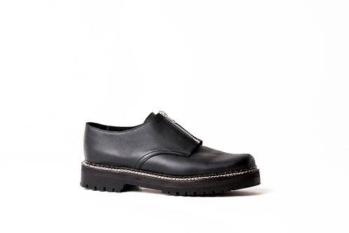 Zapato Cierre negro
