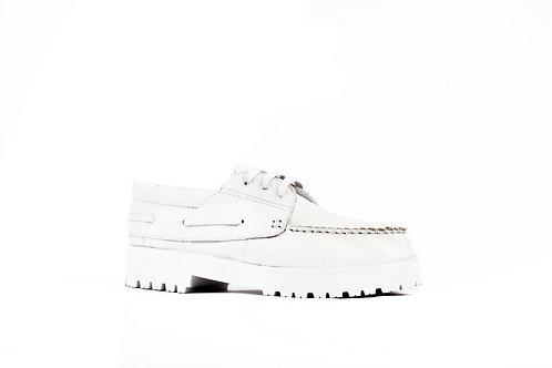 Zapato Leñador blanco
