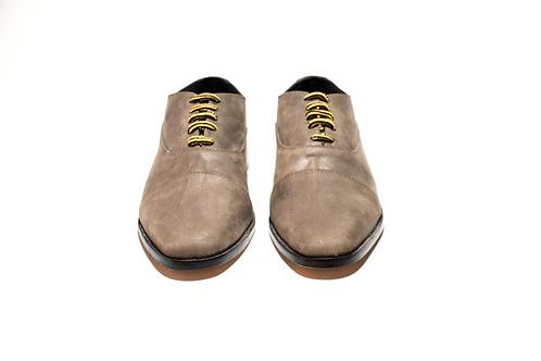 Zapato Ingles gris