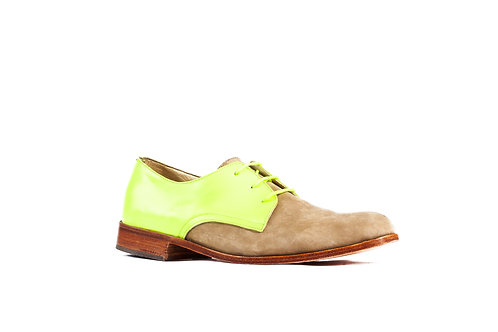 Zapato Mono Combinado amarillo