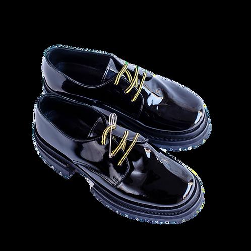 zapato bomba super negro