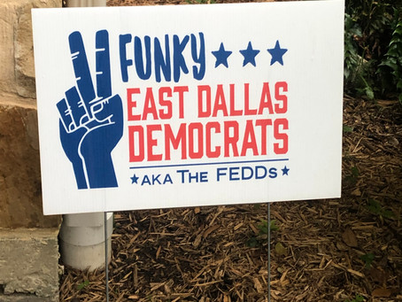FEDDs Yard Signs Blooming This Spring