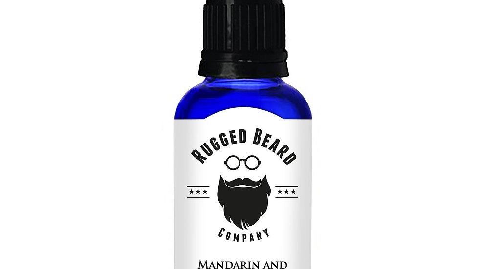 Mandarin and Cedarwood Beard Conditioning Oil