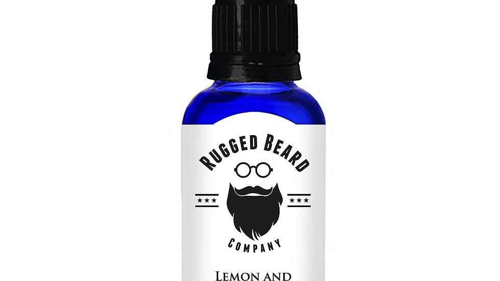 Lemon and Tea Tree Beard Conditioning Oil