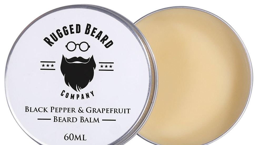 Black Pepper & Grapefruit Beard Balm