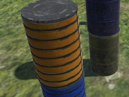 Barrels Asset Update!