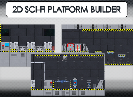 2D Sci-Fi Platform Builders