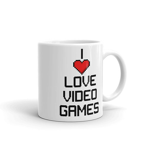 I Love Video Games Mug