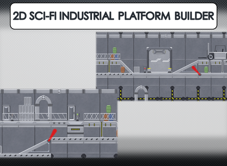2D Sci-Fi Industrial Platform Builder