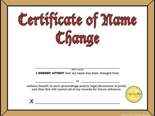 Name Change for a Child Requires Sufficient Evidence