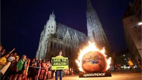 Vamos permitir um atentado aos direitos humanos, à saúde, e ao clima?