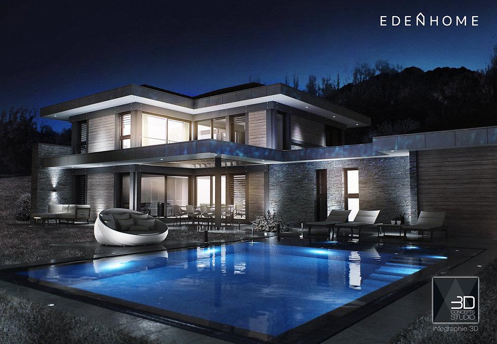 visuel architecture pour EdenHome 2019