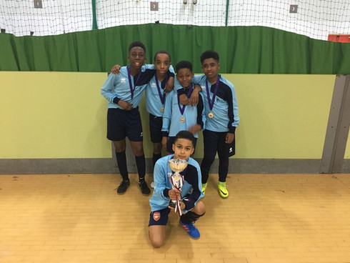 U12 Futsal Tournament Winners