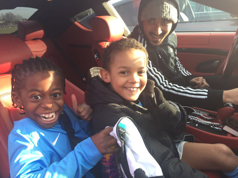 Under 8s visit Charlton FC