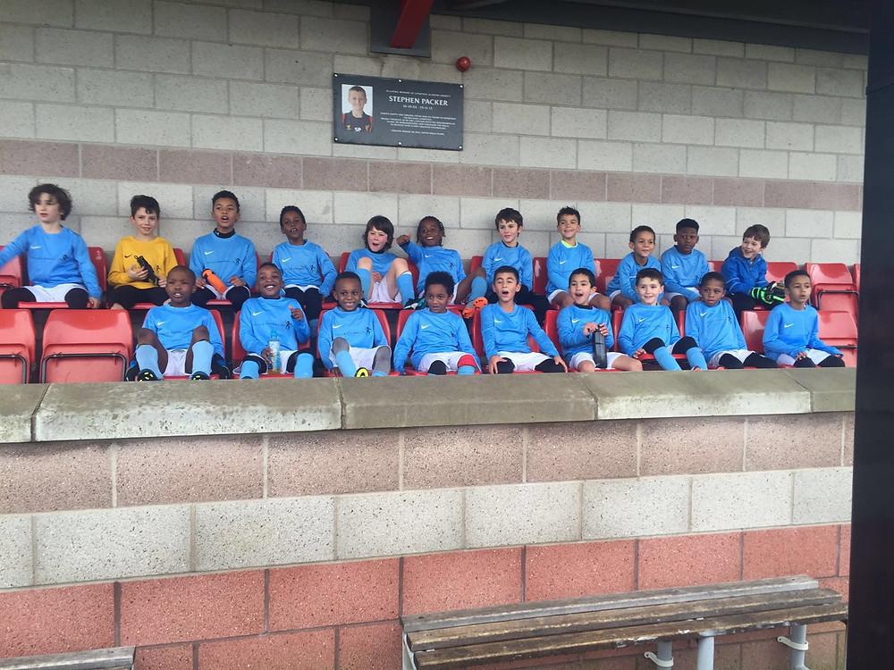 U7 & U8 FocusFootball teams at Melwood (Liverpool)
