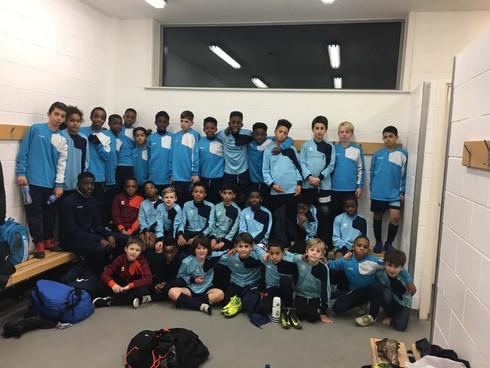Focus Football visit Everton