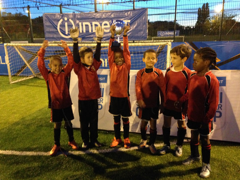 Focus Football Under 8s road to Wembley