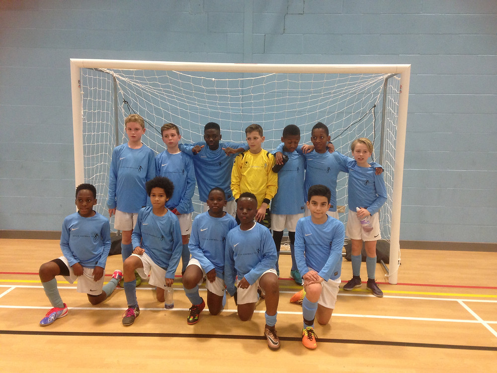 U12 Victorious at London Futsal Competition