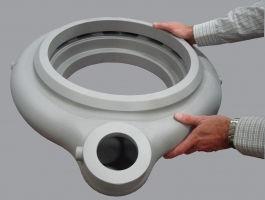 Thrust Chamber Investment casting.jpg
