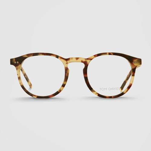 ddf90ceba9 We then take photos in the chosen template frame. These are then sent to  the Tom Davies design studio where the eyewear is redesigned for ...