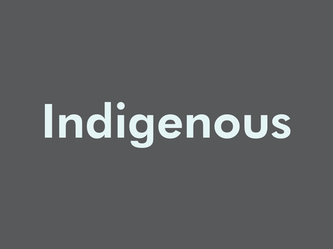 Indigenous Work