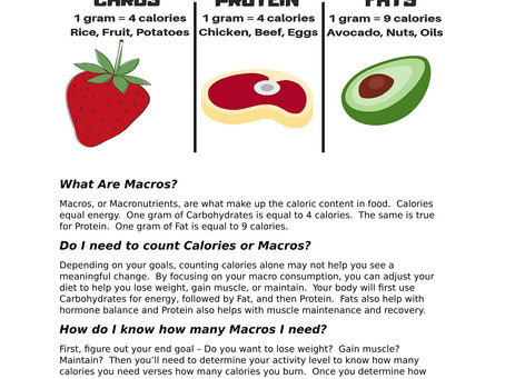 What Are Macros, Anyways?