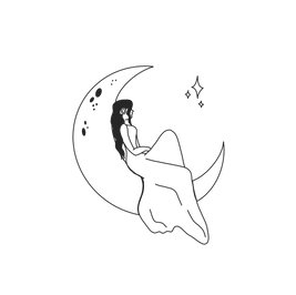 Moon & Back Logo