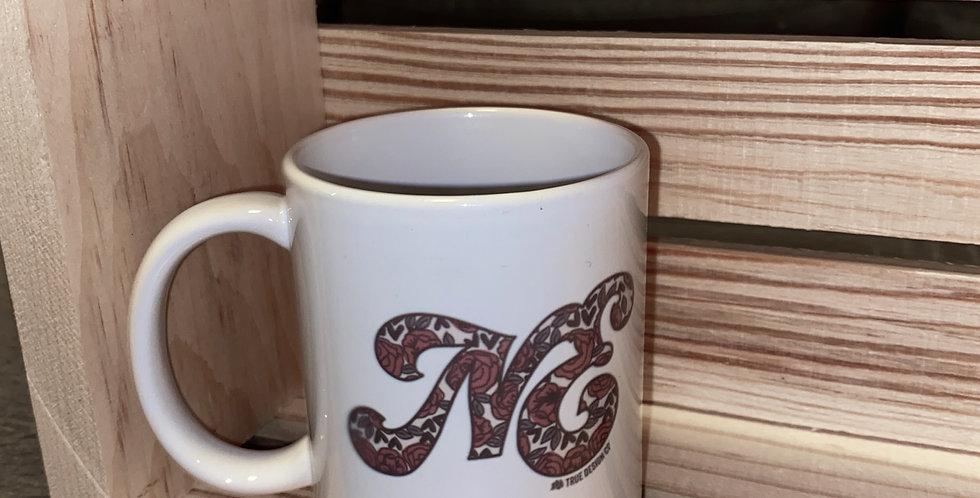 NE Floral Coffee Mug