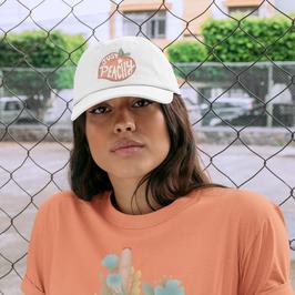 Just Peachy hat & Whatever shirt