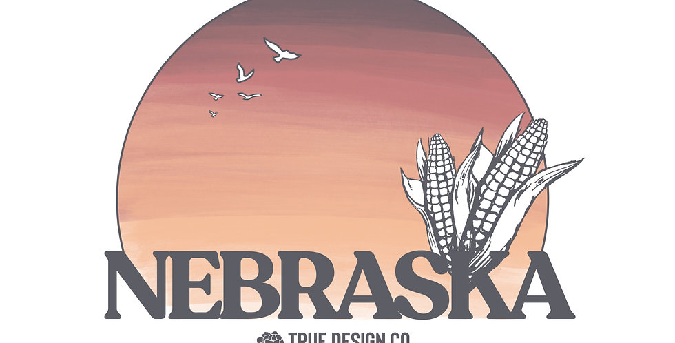 Nebraska Sunset Print