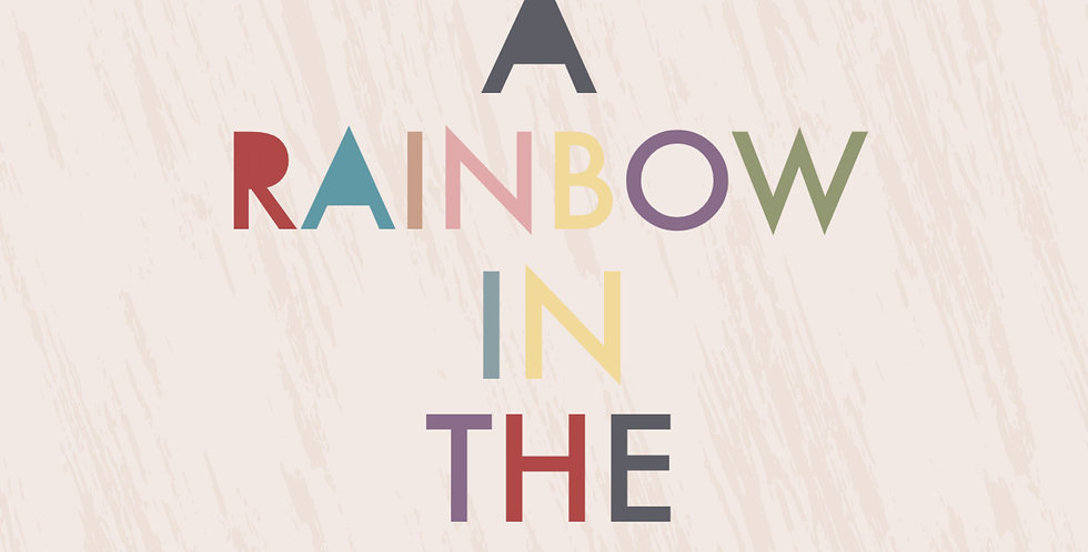Be a Rainbow Print