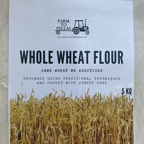 Whole Wheat Flour (5 Kg)