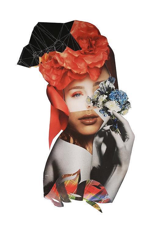 Flowery Face II - Original