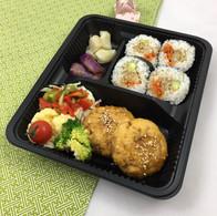 Tofu Kitsune & futomaki1.JPG