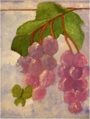 Grapes & Butterfly