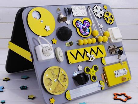 Pannello  Montessori gioco sensoriale