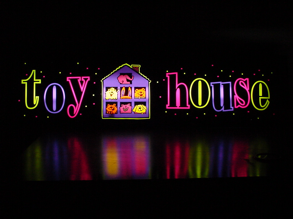 toy houe florescent