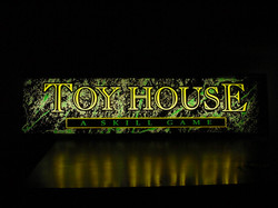 toy house green marble