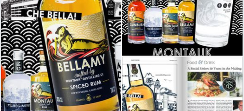 Montauk Distilling Company Ad