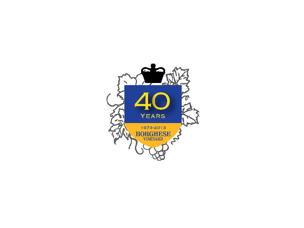 Borghese Vineyard 40th Emblem