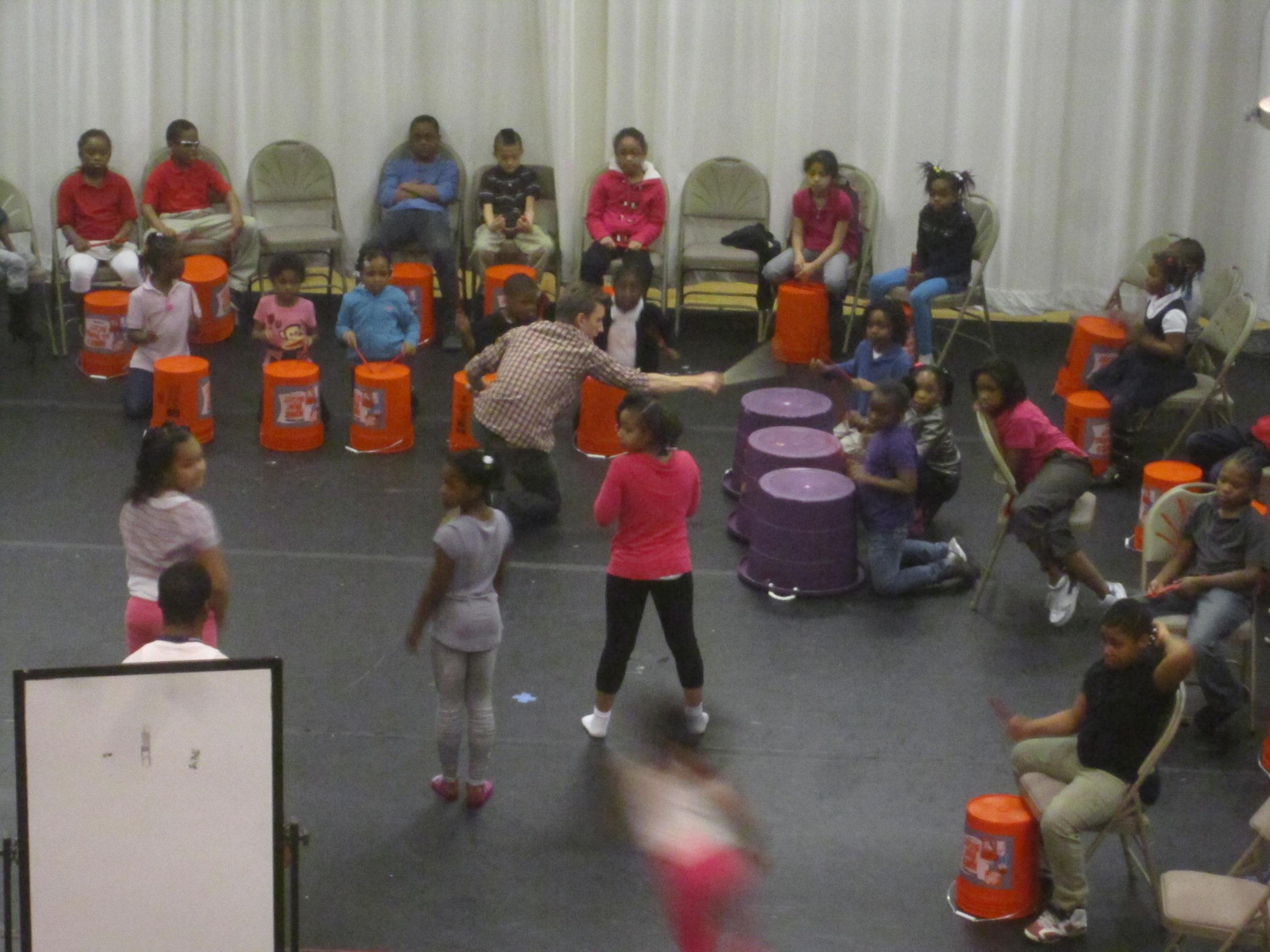 Bucket Band Dance Collaboration