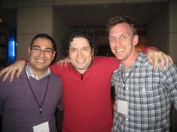 Joe and Rey with Gustavo