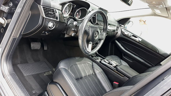 a clean and vacuumed and conditioned interior in Hampton