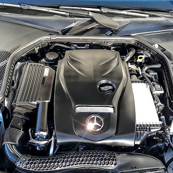 clean and detailed engine bay for increase appeal and performence